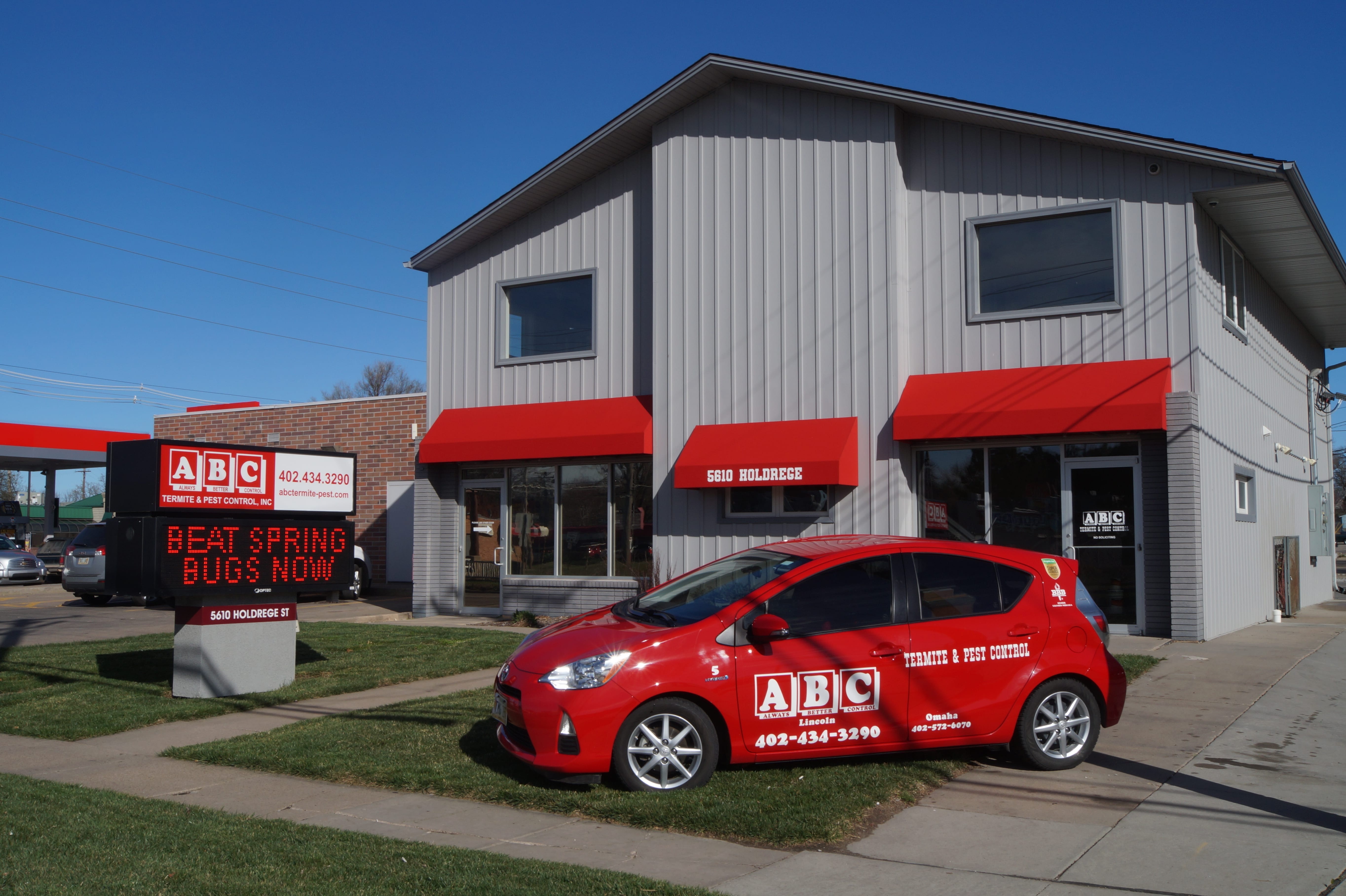 OUR OFFICE IS CENTRALLY LOCATED ON 56TH AND HOLDGREGE.