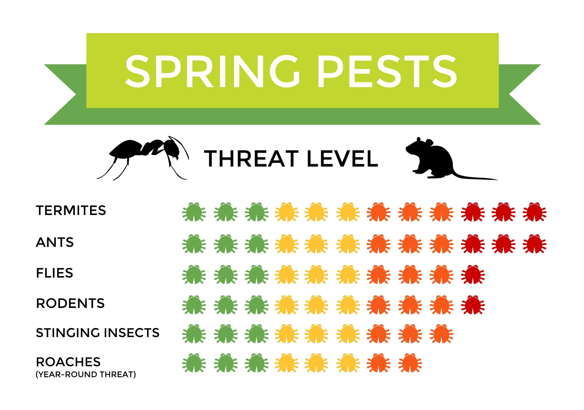 Spring Pests, Start Pest Control Management